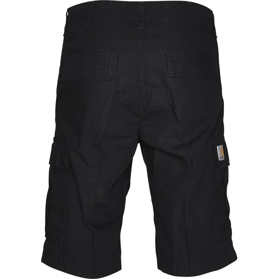 REGULAR CARGO SHORT. I015999 - Regular Cargo Shorts - Shorts - Regular - BLACK RINSED - 2